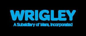 Logo Wrigley bleu