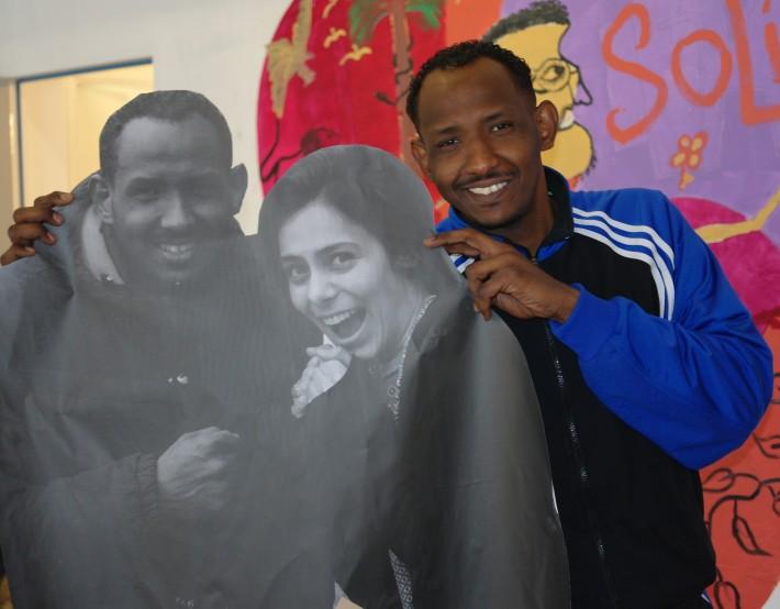 Street art chez EMMAÜS Solidarité avec Le Mouvement