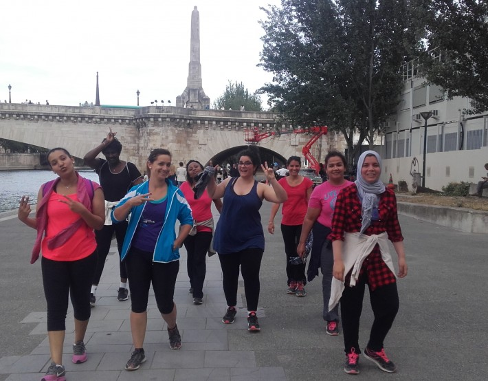 Une équipe EMMAÜS Solidarité participe à La Parisienne