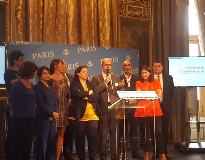 CP – Dispositif de premier accueil des personnes migrantes sur Paris