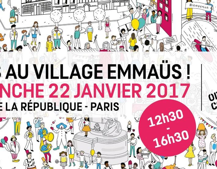 Journée de mobilisation EMMAÜS – 22 janvier 2017 – le combat continue