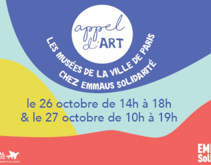Appel d'Art : Paris Musées chez EMMAÜS Solidarité