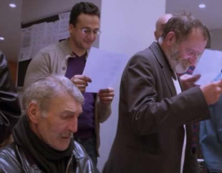 Les comédiens de l'accueil de jour Agora – Film «Cyrano & et la petite valise»