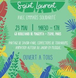 Fête du Jardin Saint Laurent