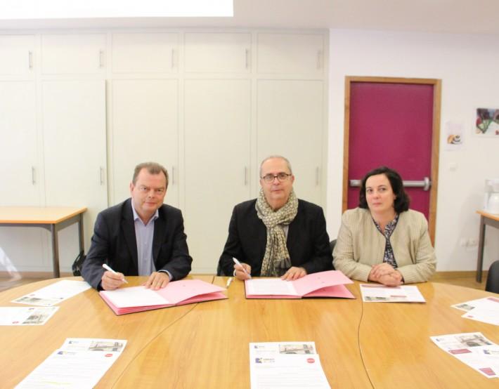 Signature d'une convention en faveur des logements en Pension de Famille