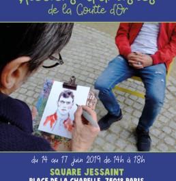 Square Jessaint & Portes Ouvertes des artistes de la Goutte d'Or