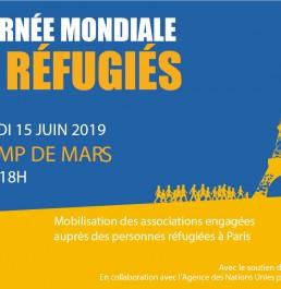 Journée Mondiale des Réfugiés - Mairie de Paris / EMMAÜS Solidarité /associations