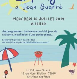 La Plage à Jean Quarré