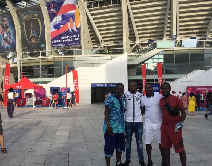 Athlétisme : nos hébergés ont participé au Meeting de Paris