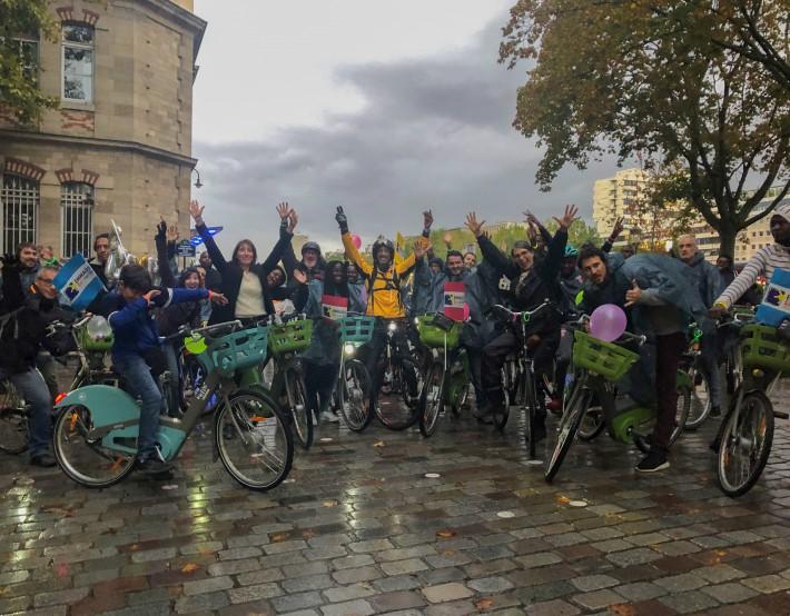Nuit Blanche 2019 : EMMAÜS Solidarité a roulé sur le périphérique parisien
