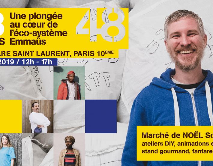 Marché de NOËL Solidaire – 16 novembre 2019