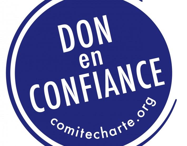 L'association est labellisée «Don en confiance»
