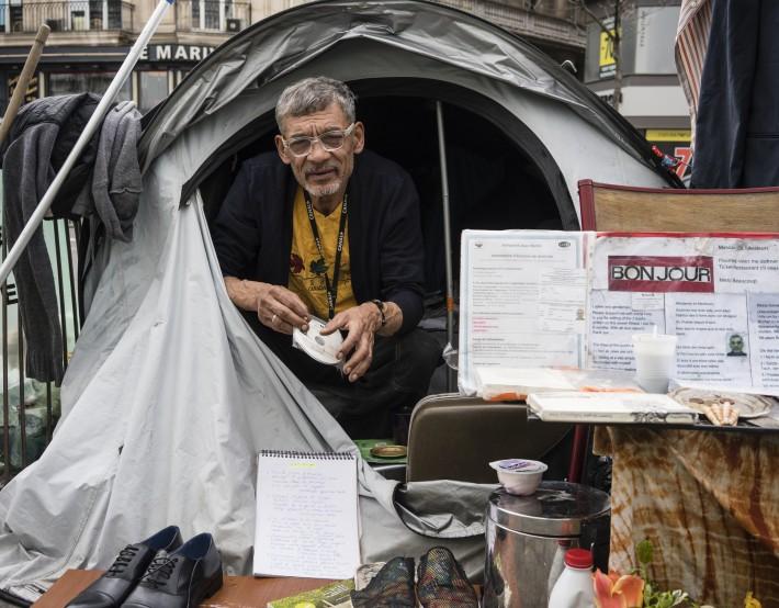 Intervention sociale pour l'insertion des publics intracommunautaires en squats et bidonvilles