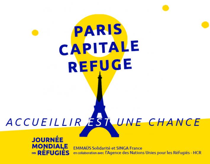 Journée mondiale des réfugiés : 15, 17 et 20 juin 2021